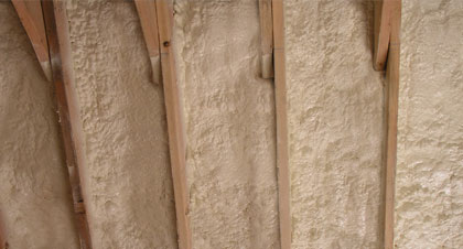 closed-cell spray foam for Shreveport applications