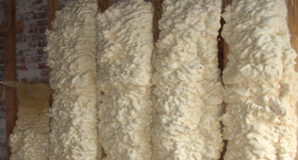 open-cell spray foam for Shreveport applications